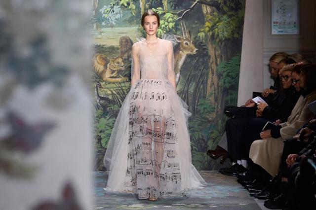 Paris Fashion Valentino