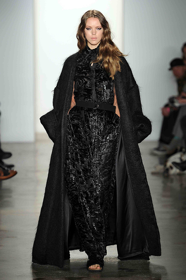 Houghton Womenswear Fall Winter 2014 New York Fashion Week February 2014
