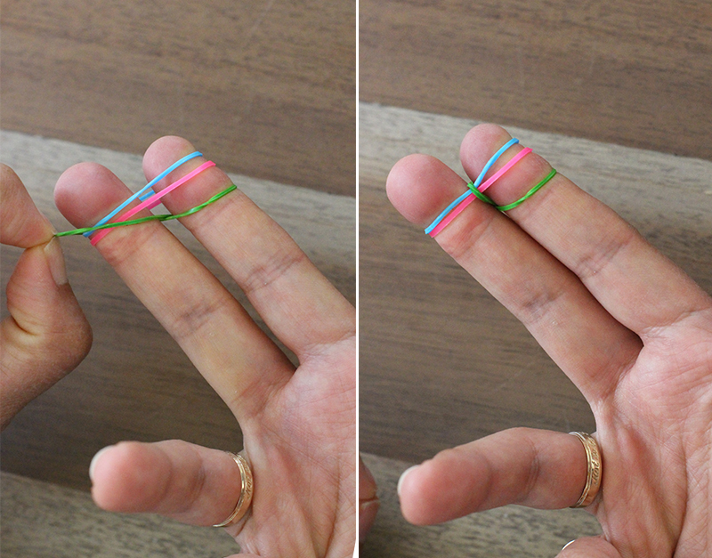 Diy Finger Fishtail Loom Bracelet Honestly Wtf