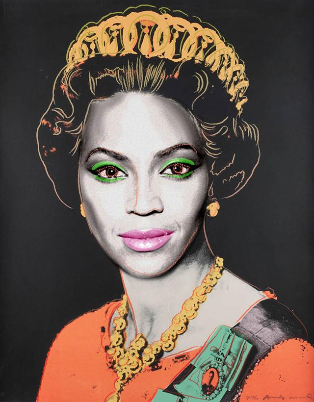 Andy Warholís 1985 portrait of Queen Elizabeth II