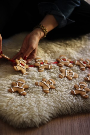 Gingerbread-garland-