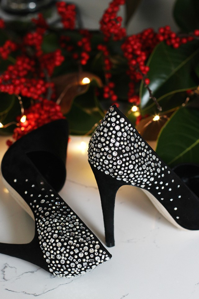 crystal bling shoes