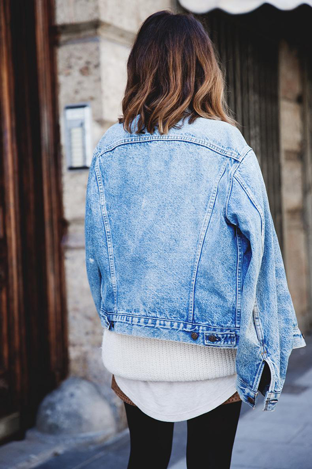 Beskie Oversized Denim Jacket for Women Destoryed Long Sleeve Boyfriend Jean Jacket Loose Coat. by Beskie. $ - $ $ 22 $ 31 99 Prime. FREE Shipping on eligible orders. Some sizes/colors are Prime eligible. out of 5 stars