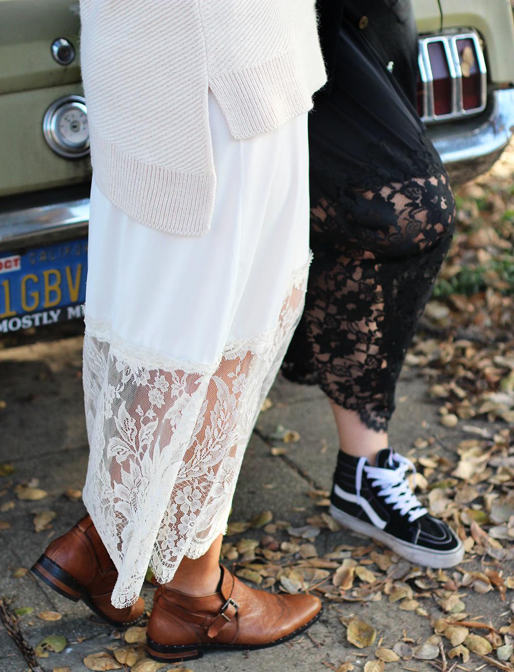 Diy Lace Layering Skirt Honestly Wtf