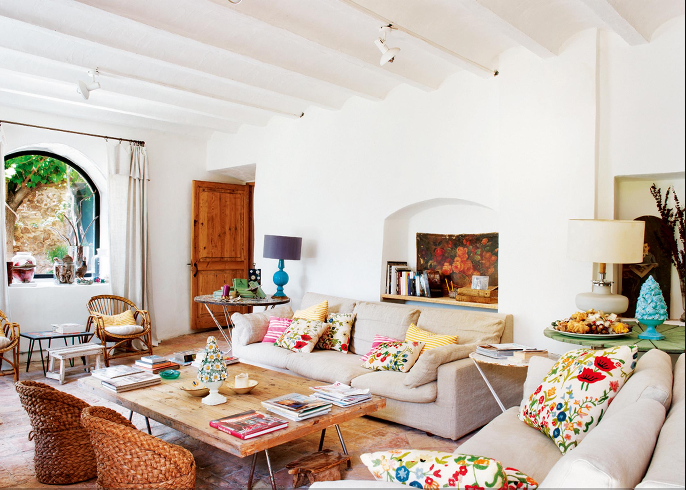 Casanovas farmhouse - Decorar casa estilo vintage ...