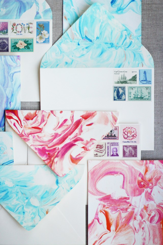 Diy Paper Marbling Honestly Wtf