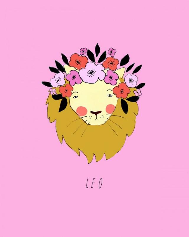 katy-smail-horoscope-illustrations-Leo-750x940