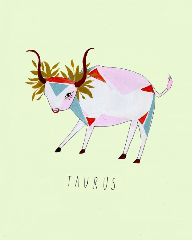 katy-smail-horoscope-illustrations-Taurus-750x938