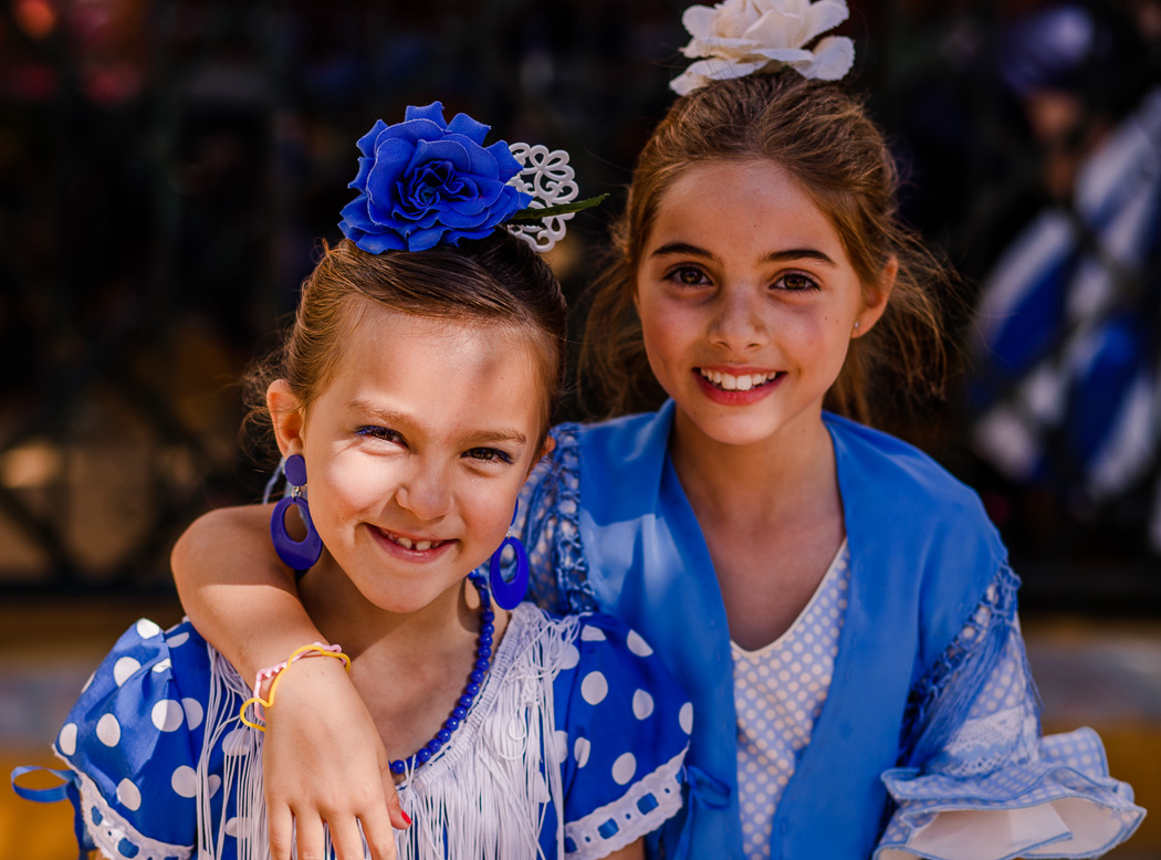 Feria-de-Carmona-children-in-blue-22