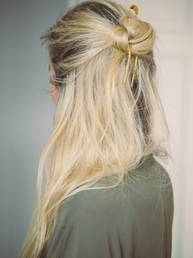 The Half Bun | HonestlyWTF
