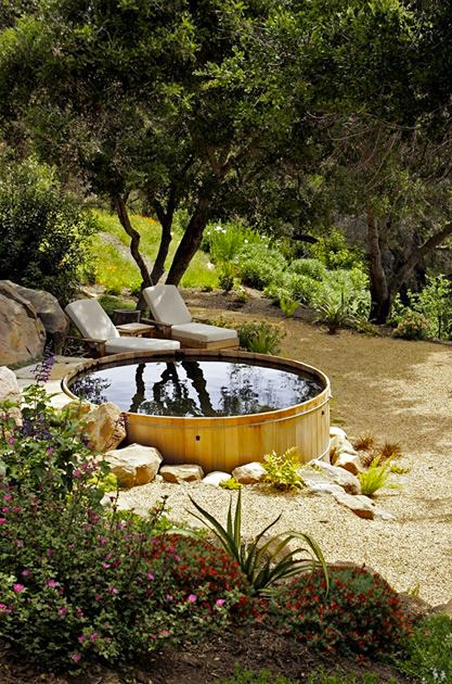 Stock tank pools for Uses for old swimming pools