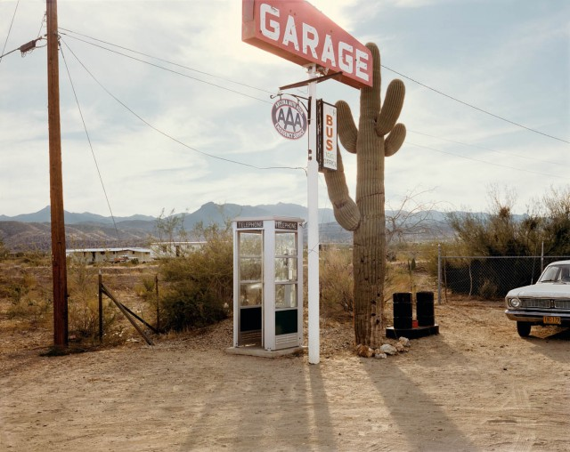 U.S. 93, Wikieup, Arizona, December 14, 1976