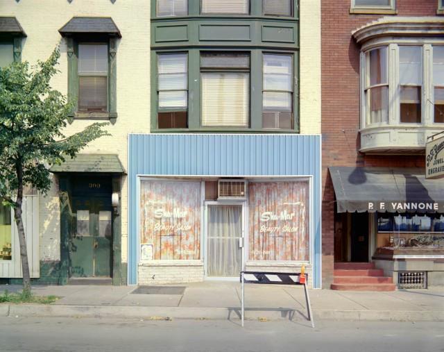 Sha-Mar Beauty Salon, Chestnut Street, Harrisburg, Pennsylvania, July 4, 1973