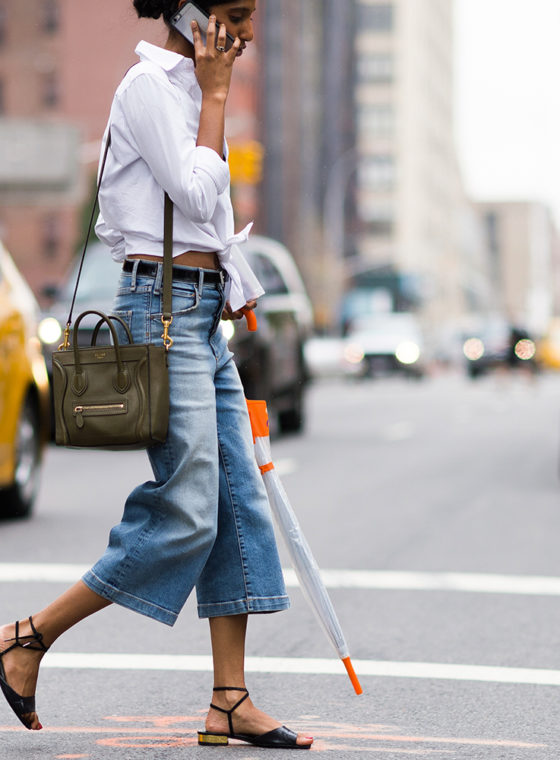 Spotted: Denim #NYFW