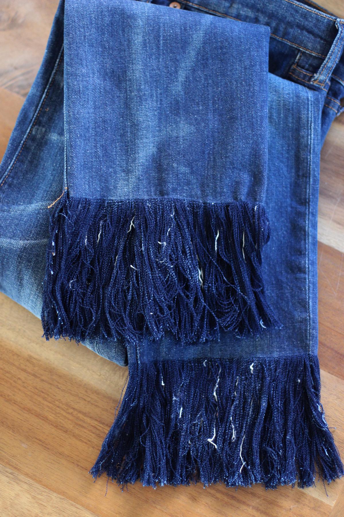 DIY Frayed Denim u2013 Honestly WTF