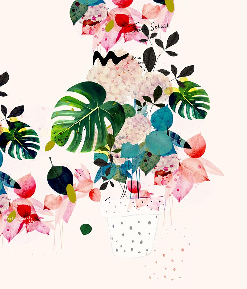 Imaginary flowers for Art flowers