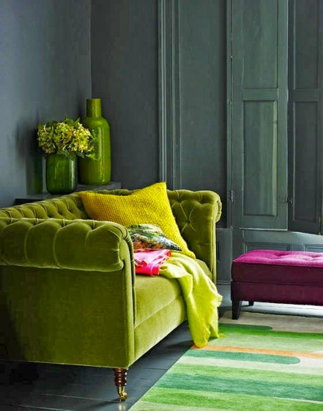 Etonnant Green Sofa