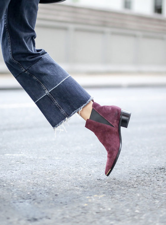 Spotted: Cropped Denim + Boots