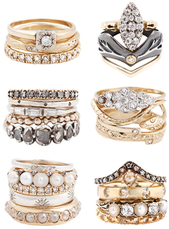Esqueleto Ring Stacks
