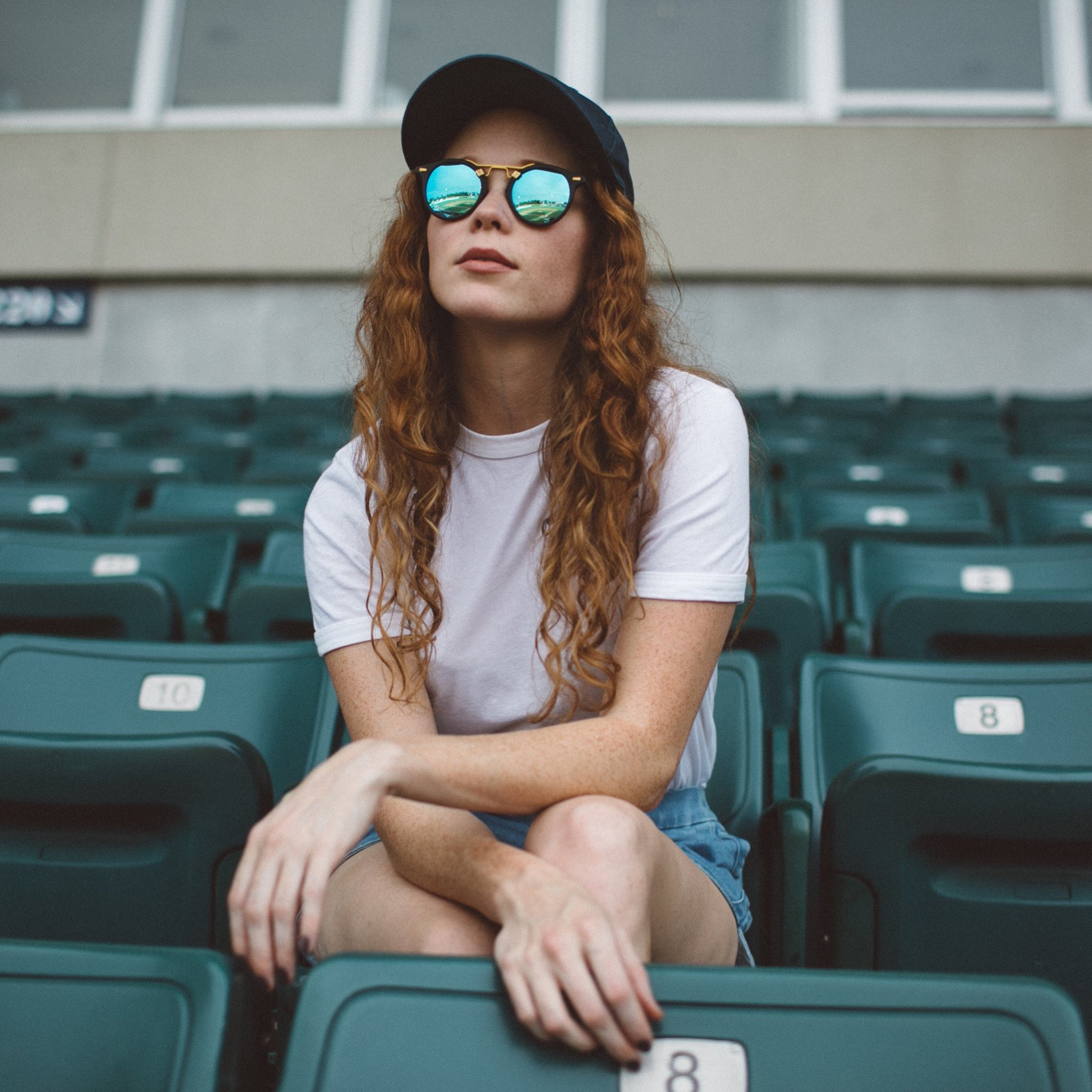 KREWE Du Optic Conti Zulu 24K Sunglasses ($255) | Elle ...