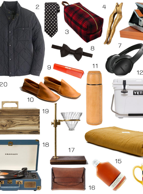 Gift Guide 2015: The Dudes