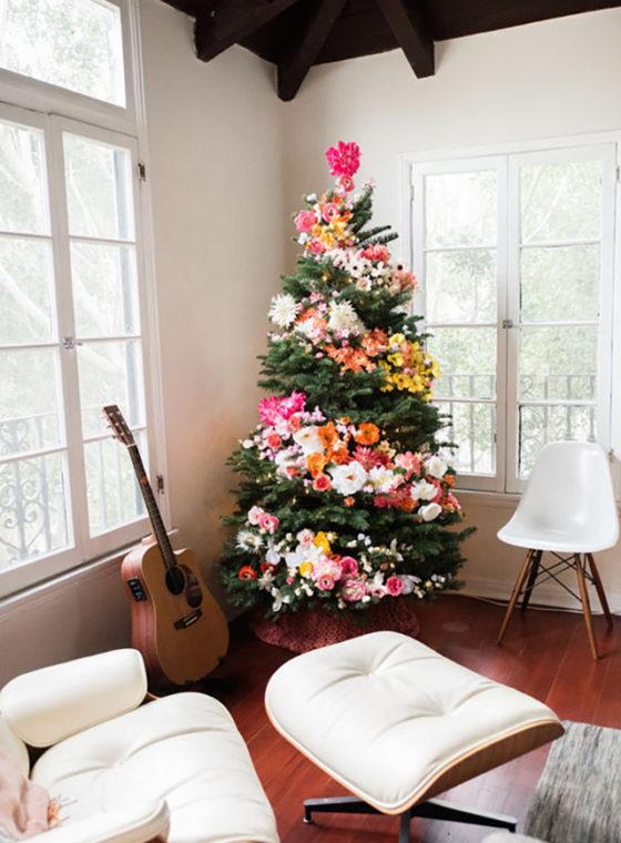 DIY Floral Tree