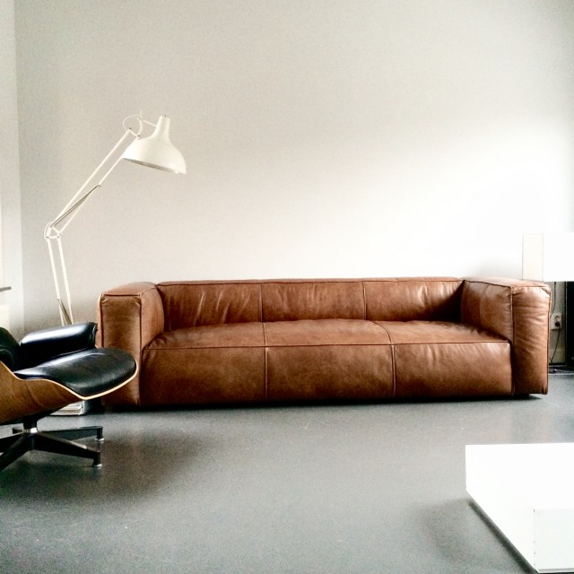 leather sofa | HonestlyWTF