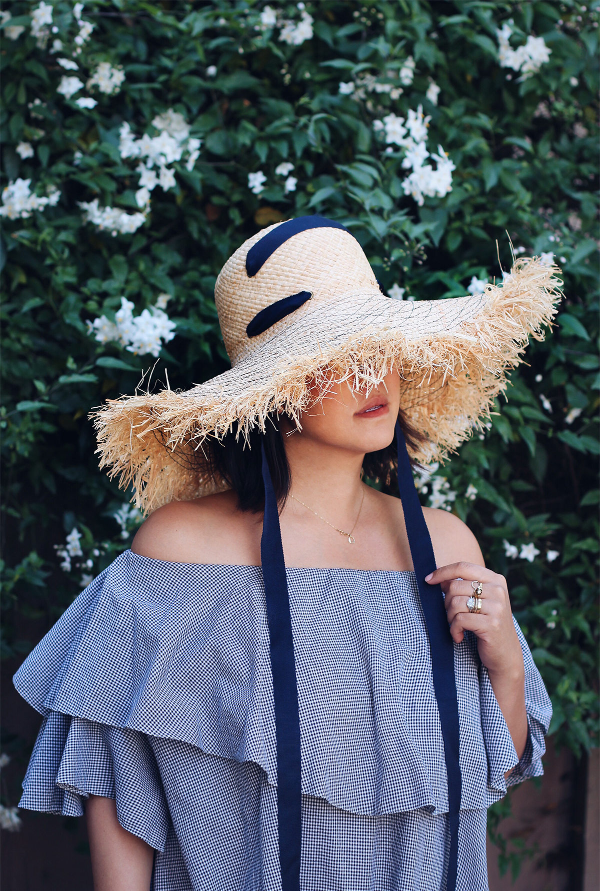 DIY Fringed Raffia Hat With Lola Hats – Honestly WTF