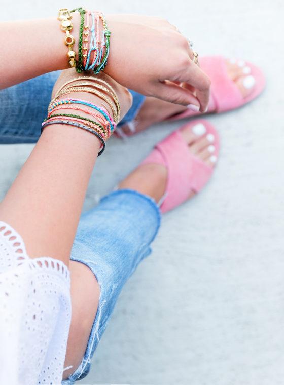 HWTF x Makers Kit Braided Bracelets