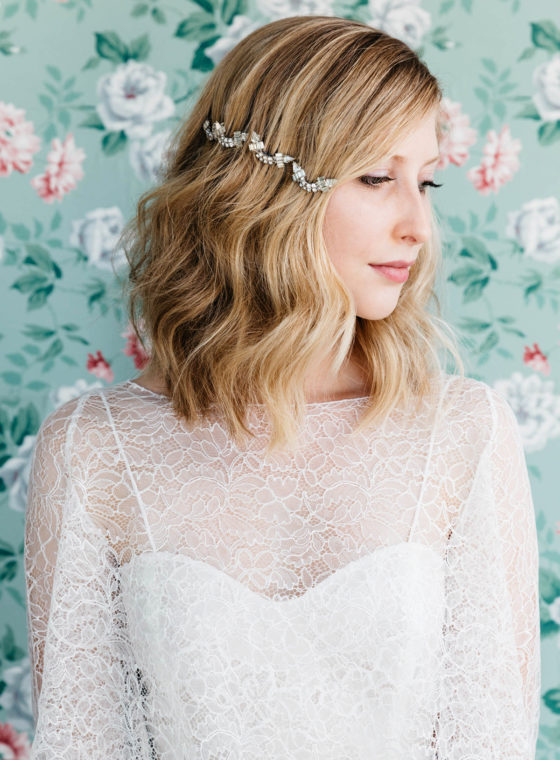 DIY Hair Accessories With Vintage Jewelry