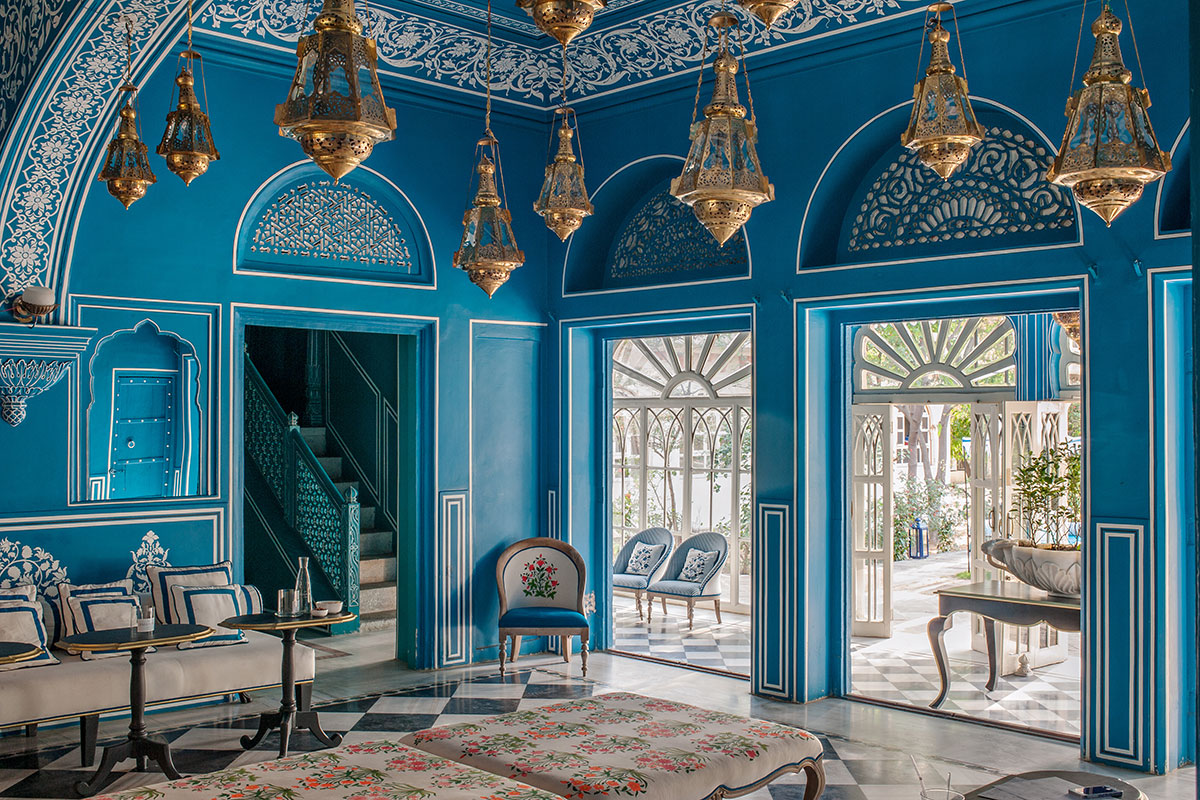 Bar palladio in jaipur india Home architecture in jaipur