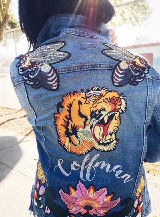 41c39b10599 Indian Season · DIY Embroidered Patch Denim Jacket