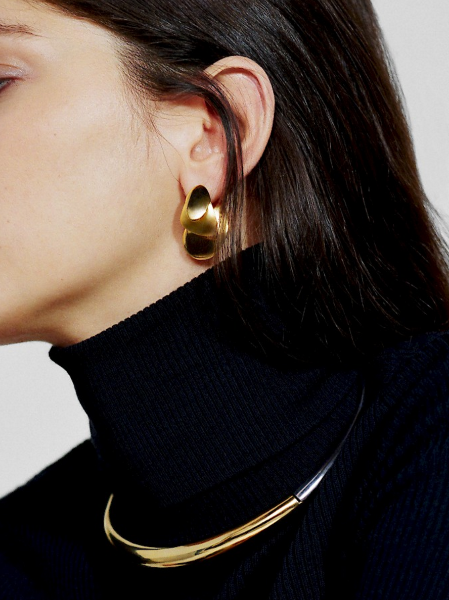 m icon earrings products saturne saturn charlotte medium earring chesnais