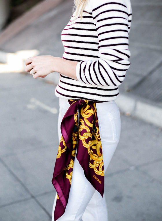 5 Ways To Wear A Silk Scarf