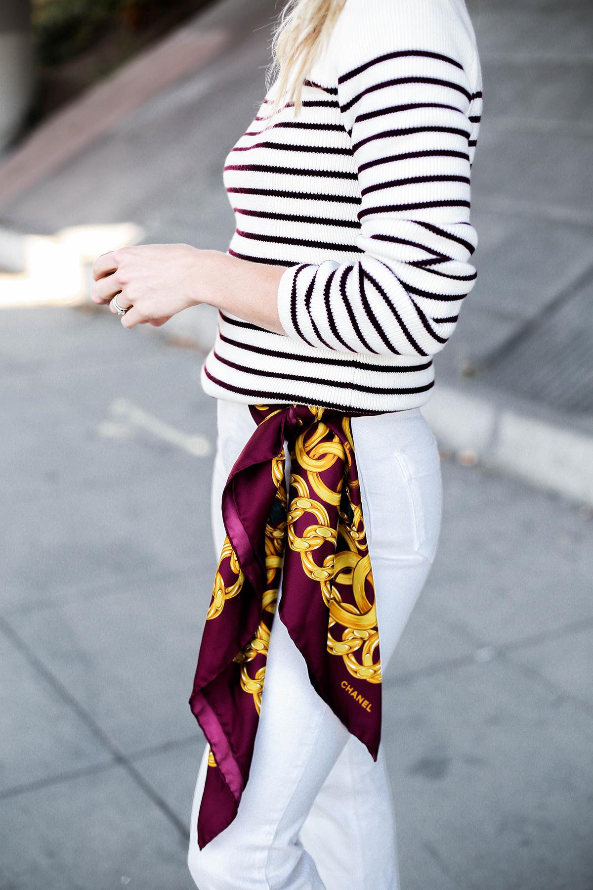 183edf87e4145 5 Ways To Wear A Silk Scarf – Honestly WTF