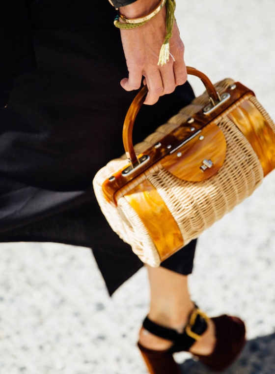 Spotted At NYFW: Straw Bags