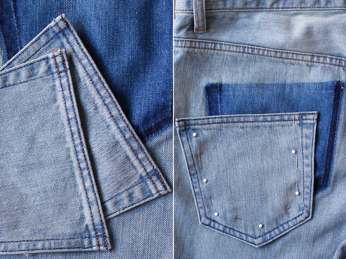 DIY Drop Pocket Jeans u2013 Honestly WTF
