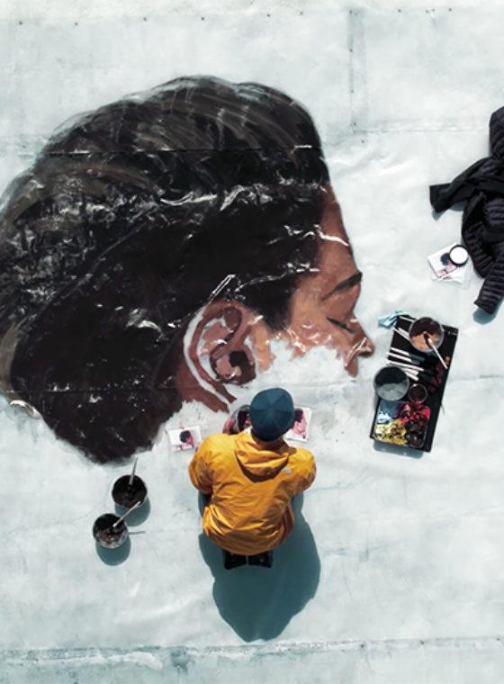 Hula's Arctic Iceberg Mural