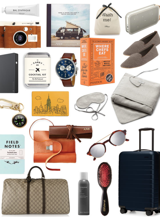 Gift Guide 2016: For The Traveler