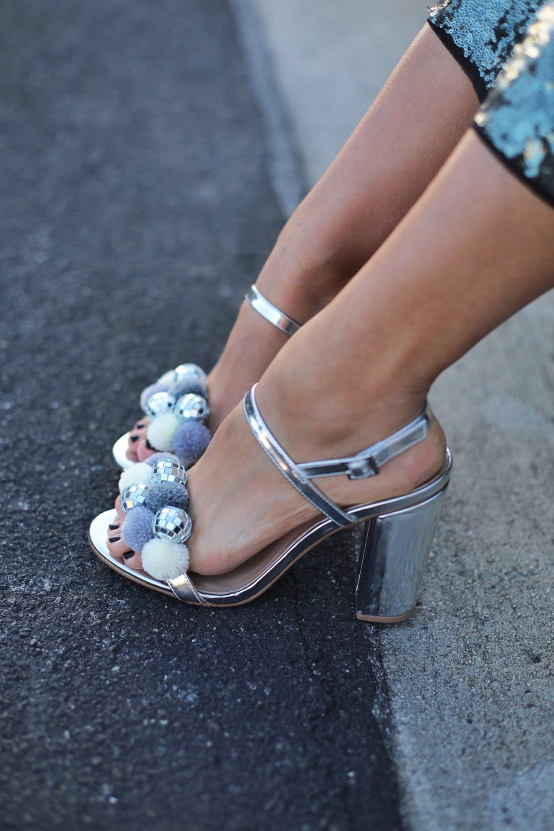 Diy Disco Pom Pom Shoes Honestly Wtf