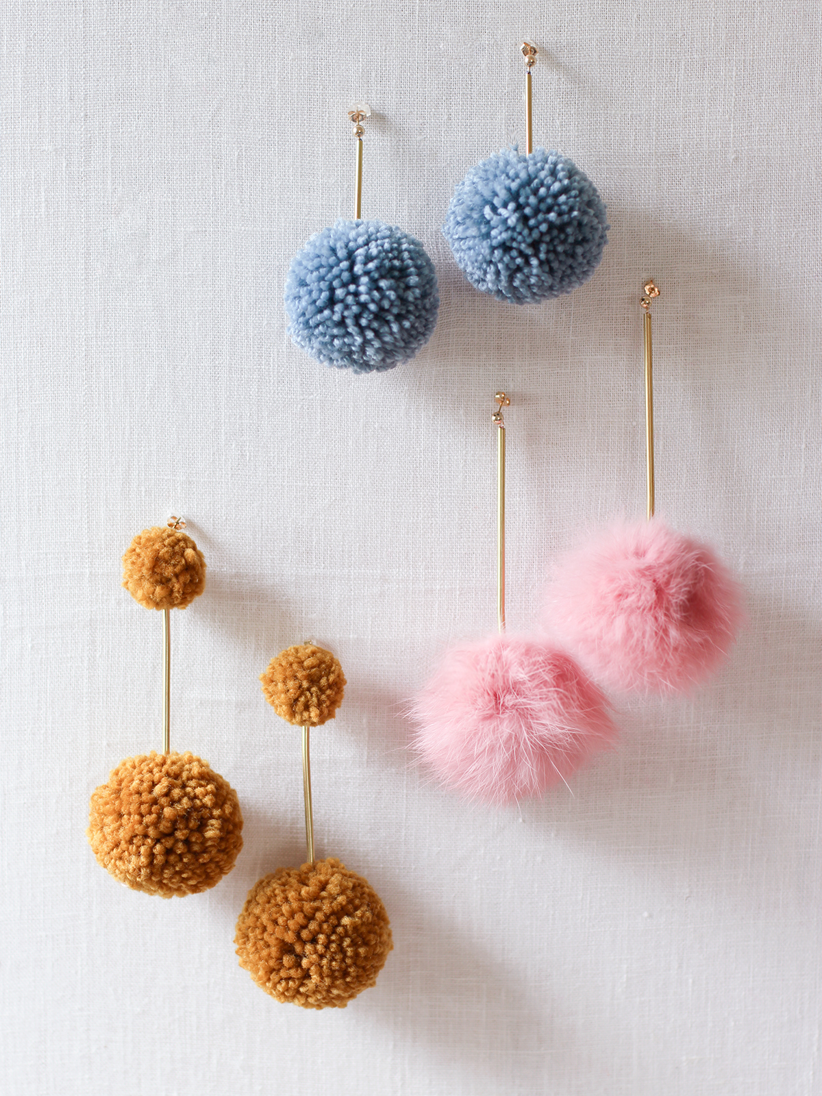 also fur diy poms honestly adding try in pom place wtf earrings you of can yarn