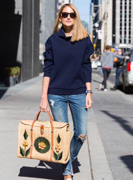 Spotted: Vintage Souvenir Straw Bags