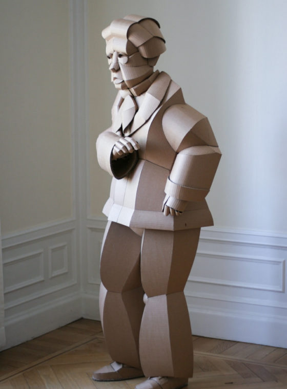 Warren King's Cardboard Sculptures