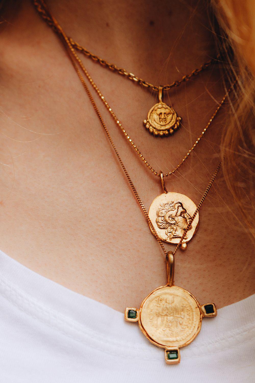 LZHLQ Vintage Ethnic Big Eagle Necklace Statement Women
