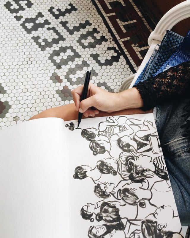 Sketching Like Leah Goren