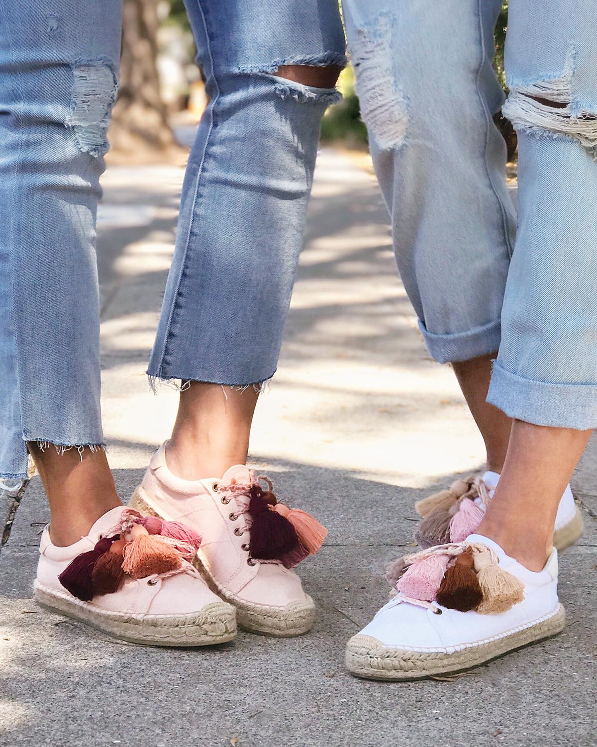 Diy Tassel Espadrille Sneakers Honestly Wtf
