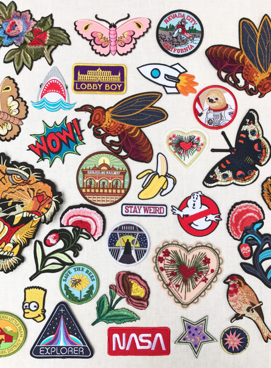 Kids Patches + DIY Backpack