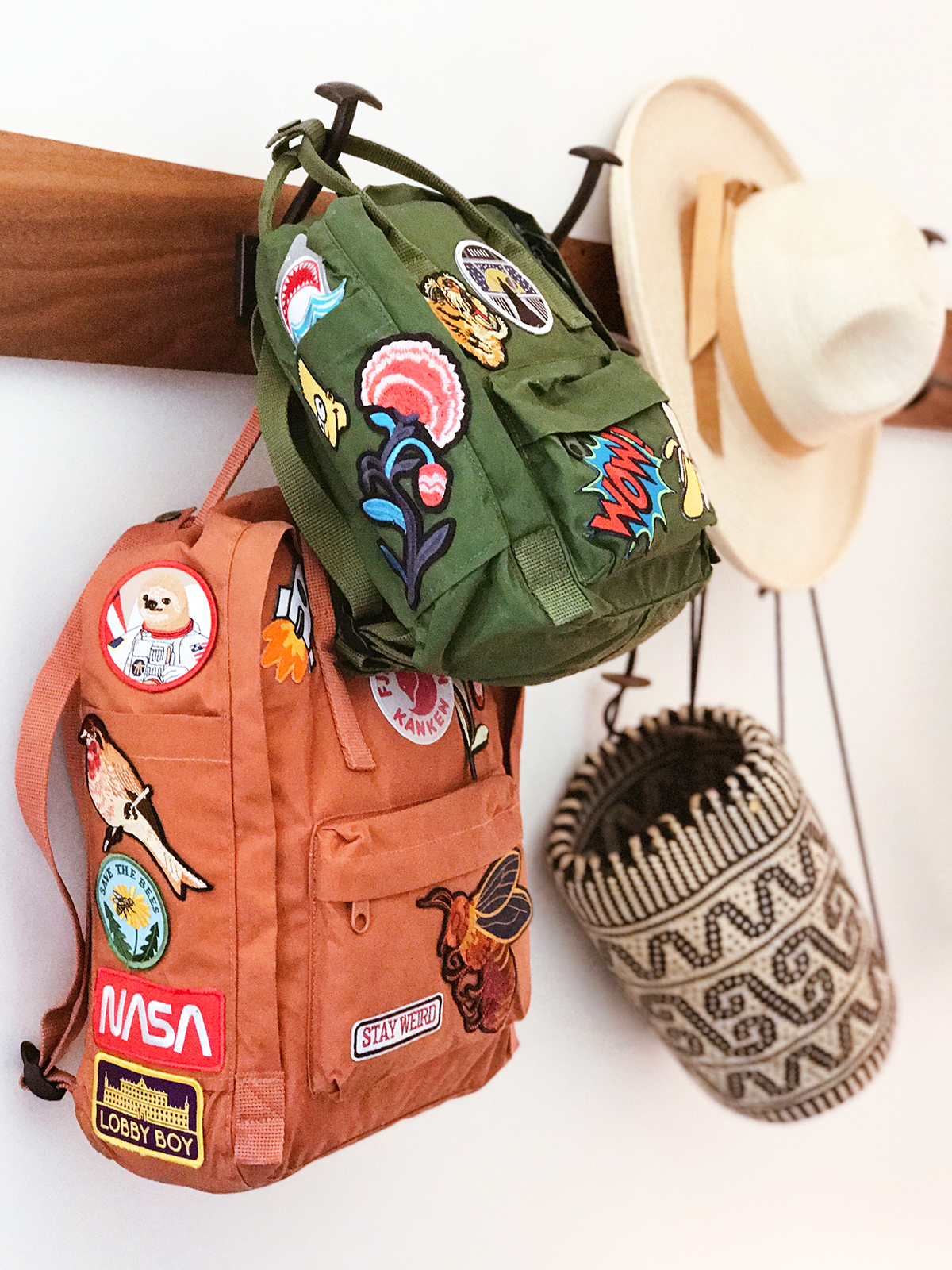 Kids Patches + DIY Backpack - Honestly WTF