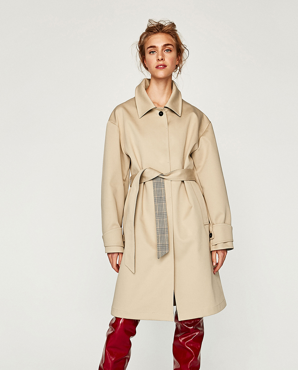 792dafd7 Oversized, plaid, asymmetrical, linen, faux suede . . . Zara has all the trench  coats right now and I'm absolutely convinced that one can never have too ...