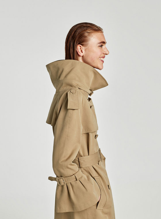 The 10 Best Trench Coats From Zara